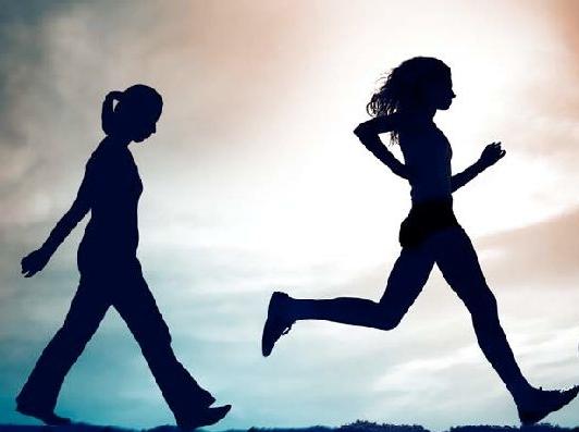 kõnd või jooks